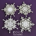 CHRISTMAS JOY - snowflakes, pattern 1