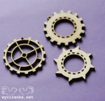 MAN'S WORLD - pedants - cogs, 3 mm plywood