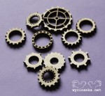 MAN'S WORLD - cogs, 3mm plywood