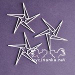 ALTERNATIVE FOR CHRISTMAS - gwiazdy-stars, 3 szt.