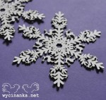 WONDERFUL TIME - snowflakes, 2 pcs.