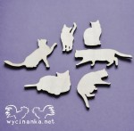 cats, 3mm plywood