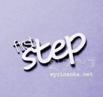 "napis ""first step"""