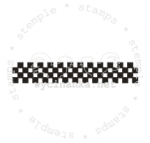 rubber stamp - checker