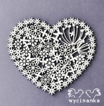 lacy heart, 3 mm plywood