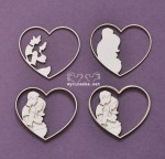FAMILY ALBUM - hearts, 3d