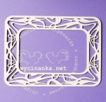 ART NOUVEAU - rectangle frame