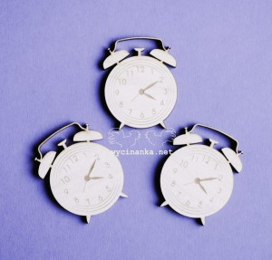 AT DAWN - alarmclocks, 3 mm plywood